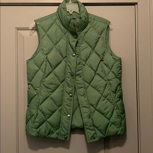 Green Puffy Vest